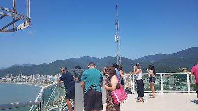 Mirante do Encanto vista panorâmica da cidade de Itapema