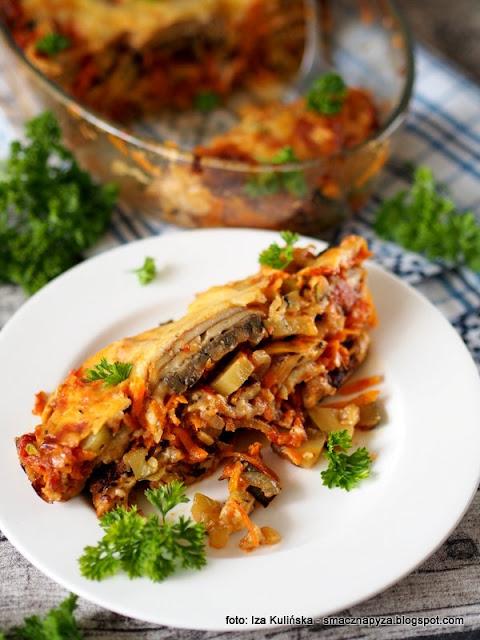 purchawica, wielki grzyb, grzyby, purchawka, warzywa, co na obiad, z piekarnika, musaka