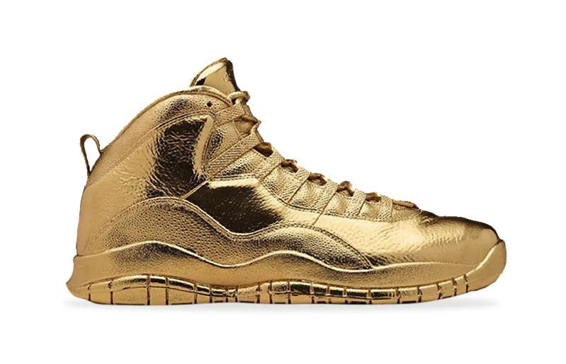 Solid Gold OVO x Air Jordan 2016