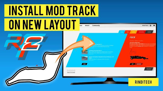 How to Install Mo Track Circuit on rFactor 2 (New Layout)