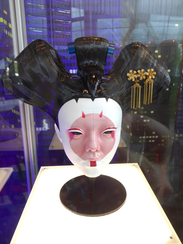 Animatronic Geisha head Ghost in the Shell