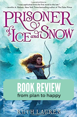 While I'm not sure this novel is properly characterized as middle grade, it was a propulsive and exciting novel. In Prisoner of Ice and Snow, Valor is determined to break her sister out of a notorious children's prison. The culture presented in this story is vaguely Russian and the setting is a prison filled with ice, snow, and freezing winds. #books #middlegrade #bookreviews