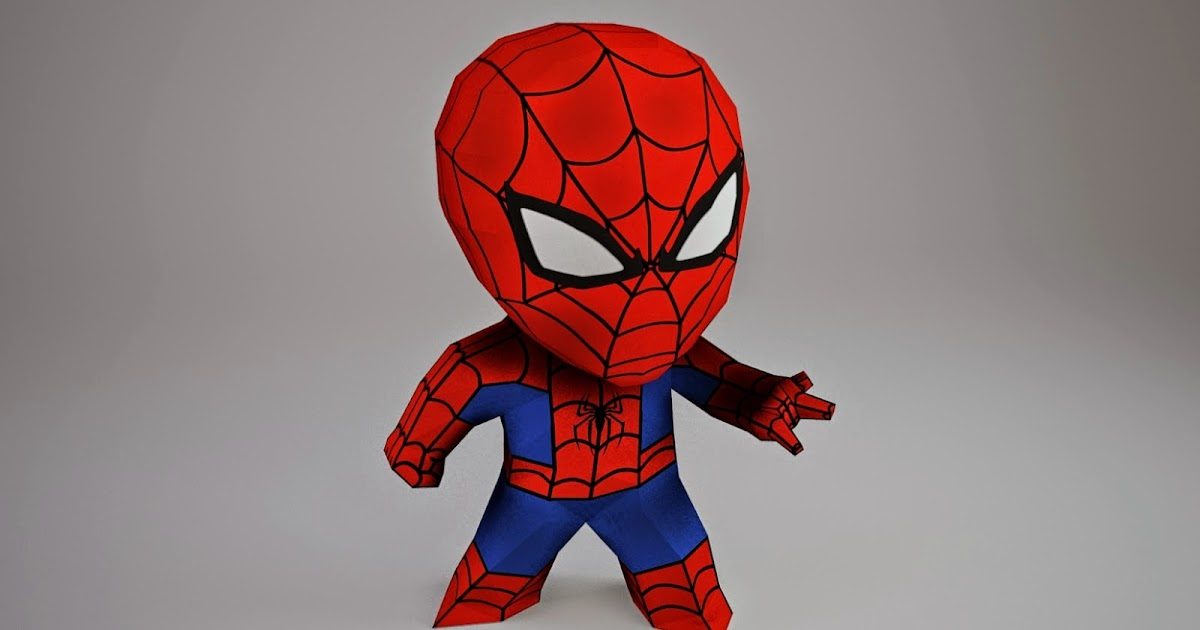 Spider Man Paper Craft With Mask