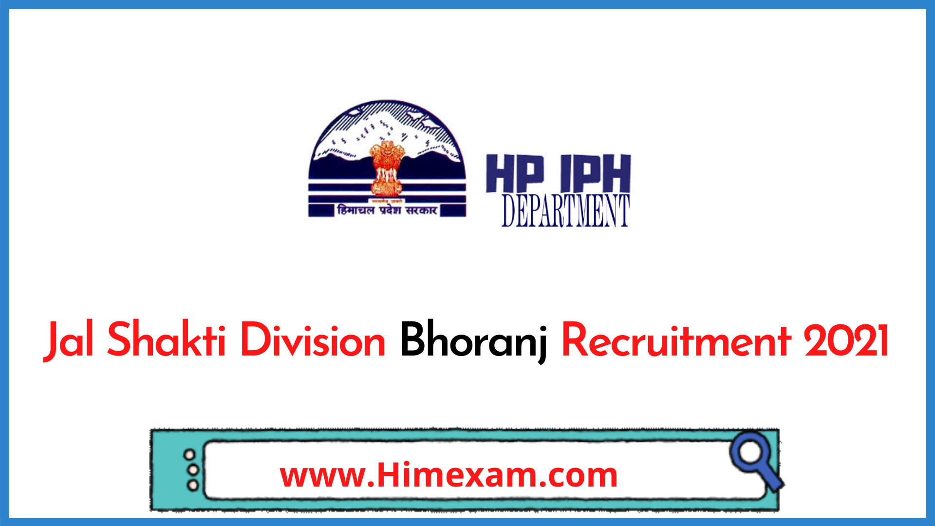 Jal Shakti Division Bhoranj  Recruitment 2021