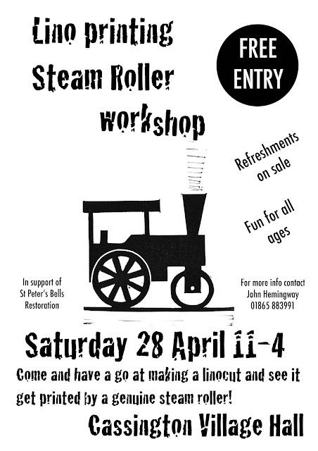 steamroller poster