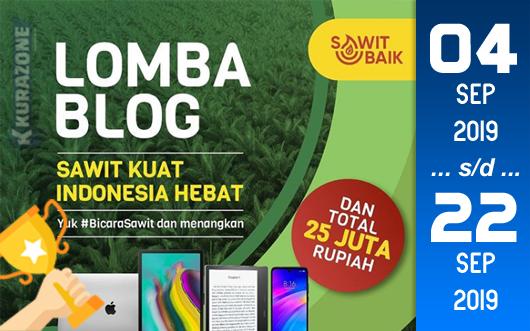 Kompetisi Blog - Sawit Baik Berhadiah Total 25 Juta Rupiah