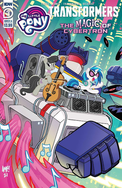 """Transformers """"The Magic of Cybertron"""" Comic #3 Cover A"""