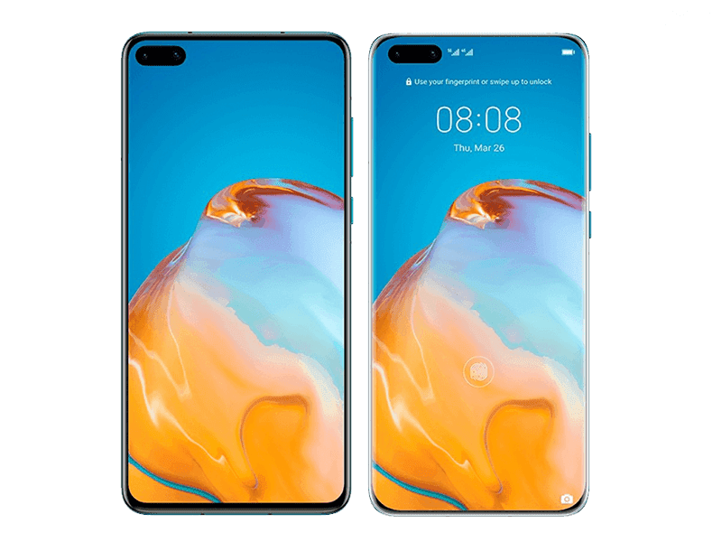 The front design of Huawei P40 appears ahead of launch