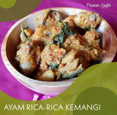 Pawon Syifa: Resep Ayam Rica-Rica Daun Kemangi www.guntara.com