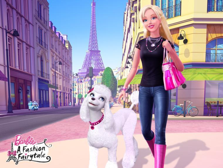 Online Cartoonz Barbie A Fashion Fairytale 11th Animated Cartoons Full Hindi Movie Kids Famous Cartoons