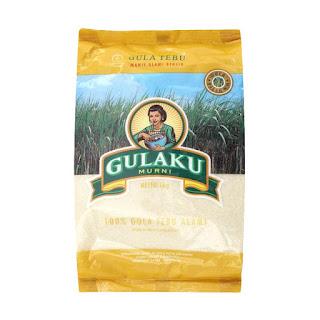 Produk Gula Pasir Brand Gulaku 1 Kg