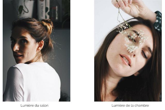 autoportraits de Clementine blogueuse