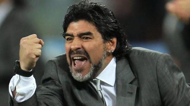 Diego Armando Maradona Marah