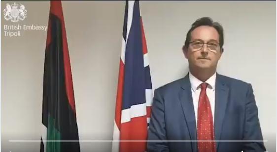 """فيديو..السفير البريطاني الجديد بطرابلس: """"سأعمل لإيجاد حل سياسي للصراع..لأن ليبيا تستحق مستقبلا أفضل"""""""
