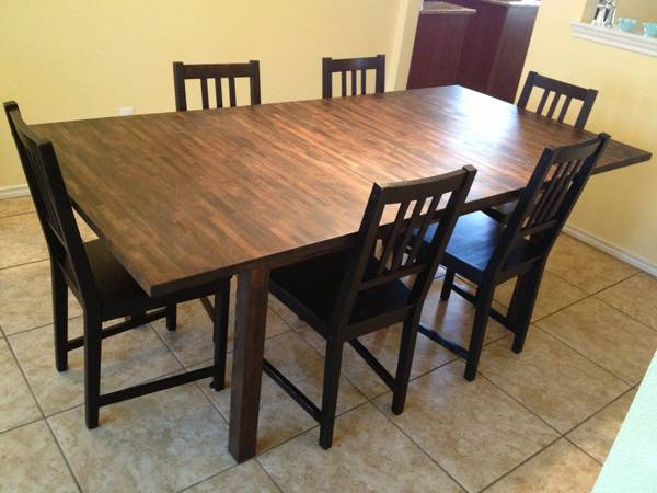 Dining Table Craigslist Dining Table And Chairs