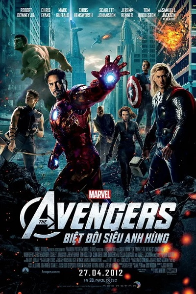 Avengers , 2012 , Movie , HD, MARVEL STUDIO ,Action, Thriller