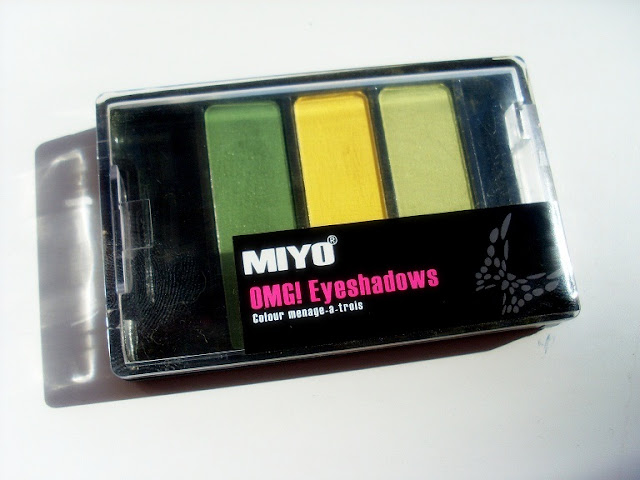 MIYO OMG! Eyeshadows  APPLETINI