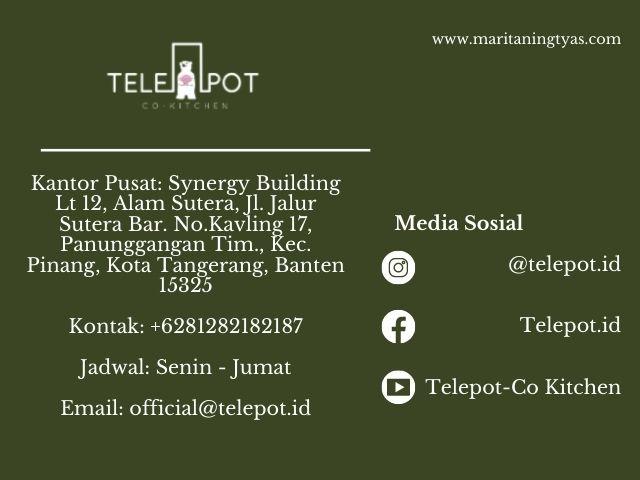 kontak dan media sosial telepot