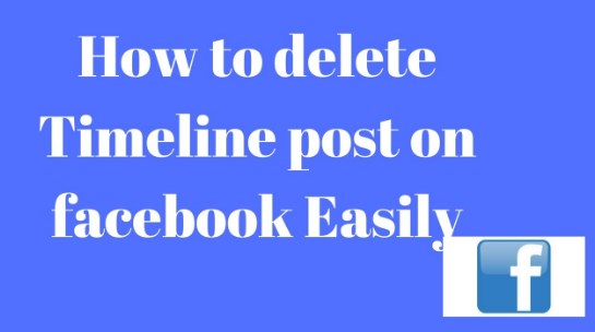 how to remove post from facebook app