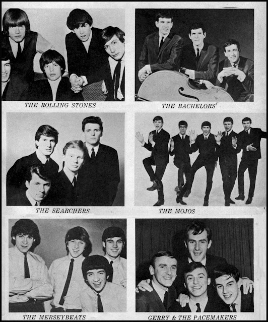 Pop music groups from the 1960s