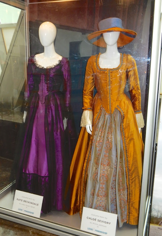 Original Love and Friendship film costumes