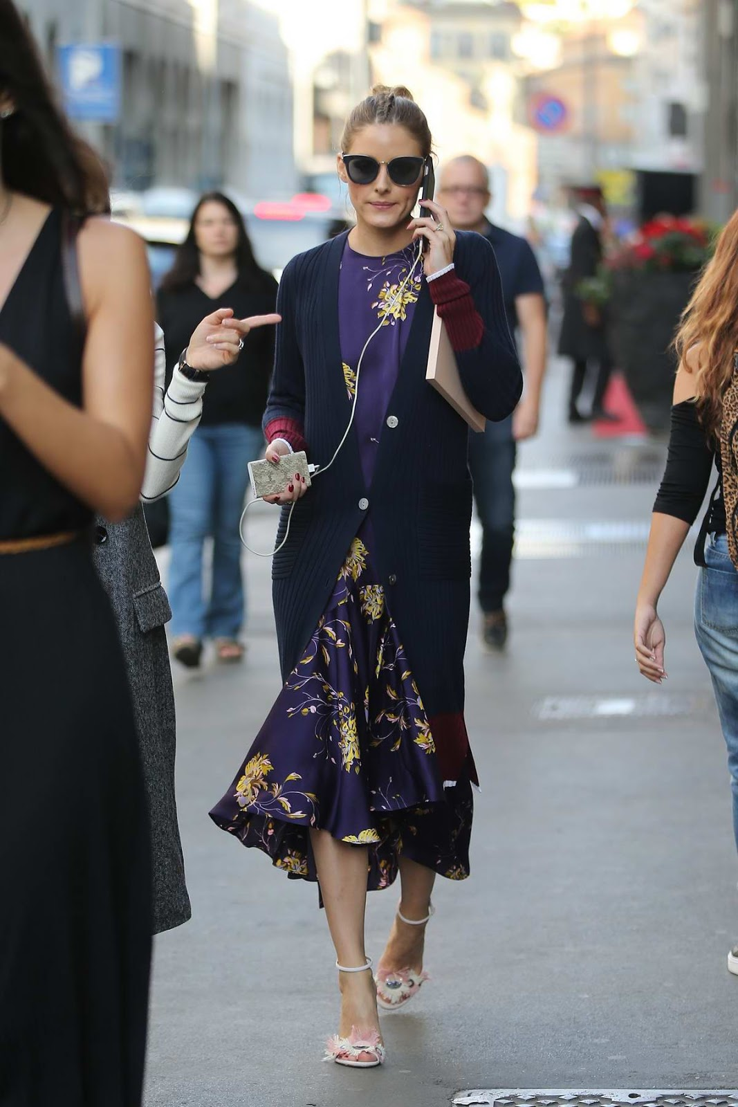 The olivia palermo lookbook olivia palermo at milan for When is fashion week over