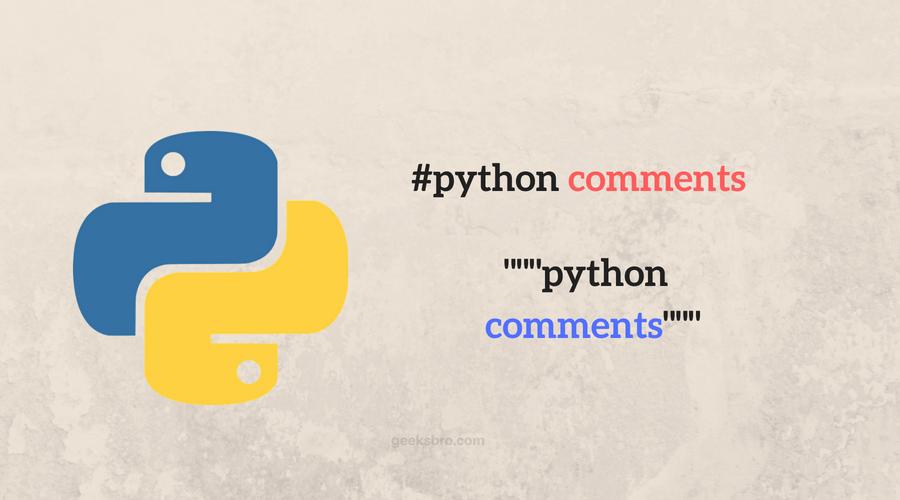 python comments