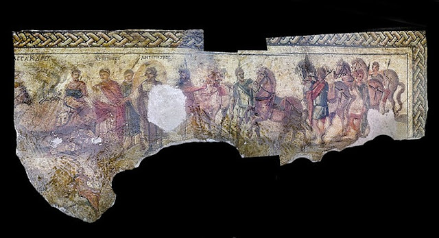 Photos of looted mosaics help pinpoint foundation date of Hellenistic city in Syria