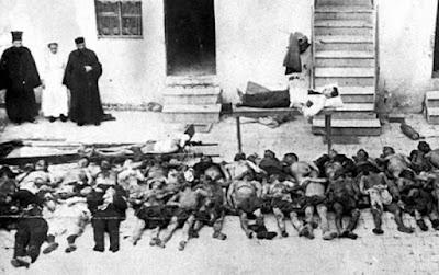 Εκτέλεση στο Δίστομο κατά τον   Β' Παγκόσμιο πόλεμο στις 10 Ιουνίου 1944