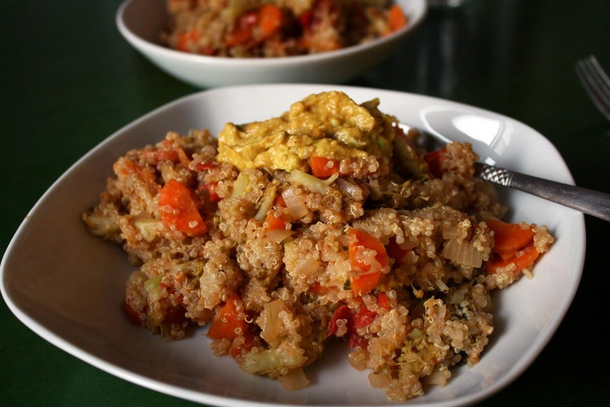 http://be-alice.blogspot.com/2014/10/quinoa-veggie-stir-fry-vegan.html