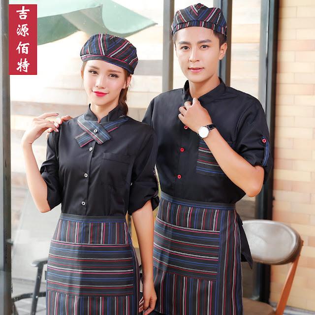 Đồng phục nhà hàng lẩu băng chuyền rất được chú trọng