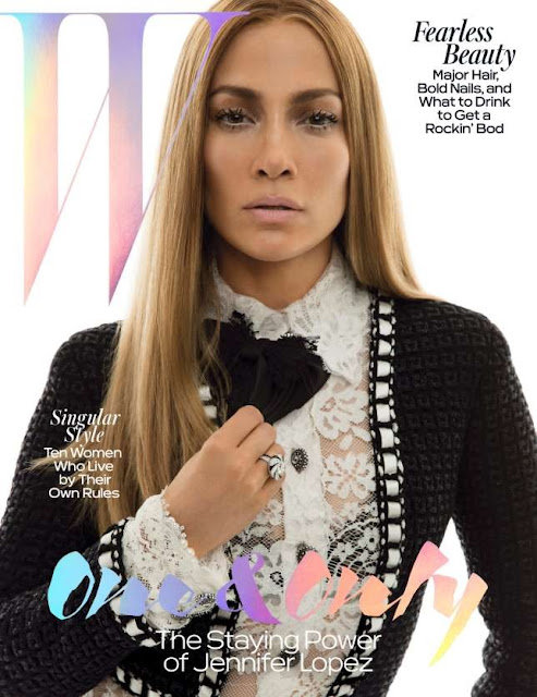 Jennifer Lopez Singer and actress is flawless on cover of W magazine