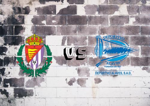 Real Valladolid vs Deportivo Alavés  Resumen