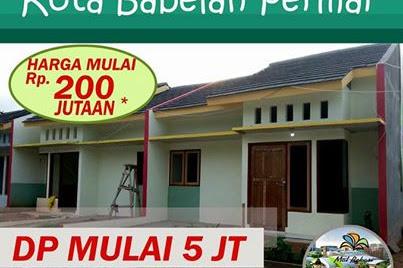 Rumah Murah DP 5 Juta DI Babelan Bekasi Perumahan KOTA BABELAN PERMAI