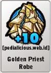 Rare Gear LostSaga Golden Priest Robe