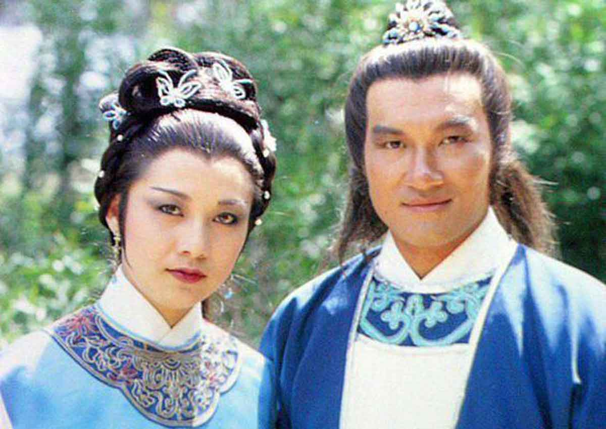 Hong Kong actress Susanna Au Yeung as Huang Rong in The Return Of The Condor Heroes (1983).