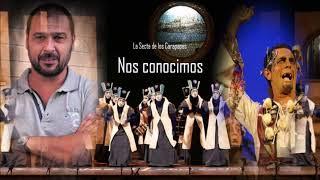 """🌏Homenaje de Los Carapapas a la Comparsa de Jesús Bienvenido"""" con Letra🌞La Secta de los Carapapas"""
