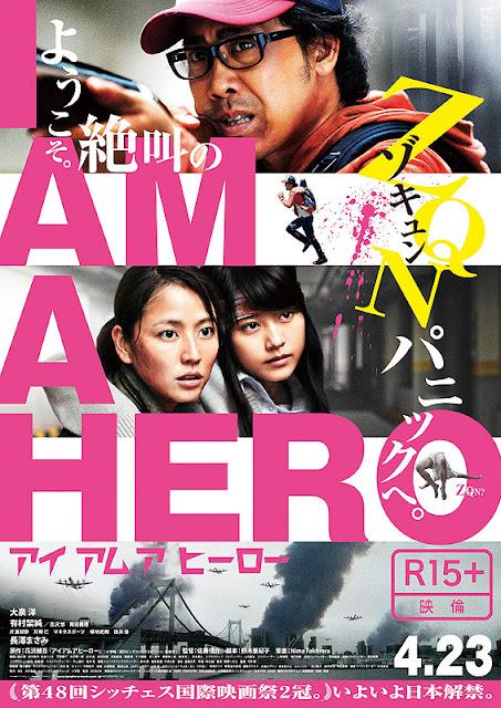 Sinopsis I Am a Hero / Aiamuahiro (2015) - Film Jepang