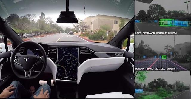 Testear autos Tesla parece ser muy divertido...