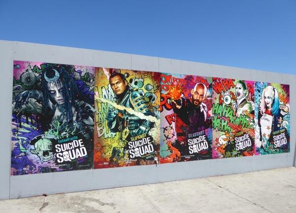Suicide Squad film posters