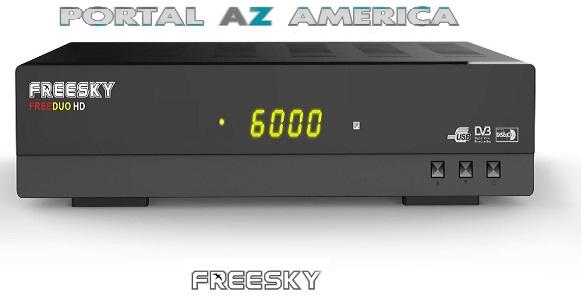 Resultado de imagem para Freesky FREEDUO HD PORTAL AZAMERICA