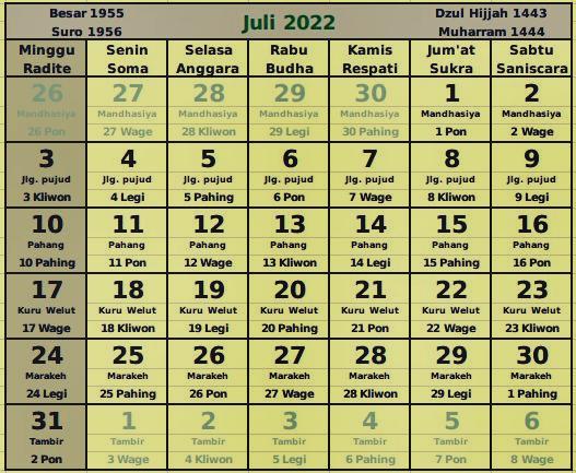 download kalender juli 2022