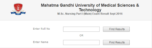 MG University Result