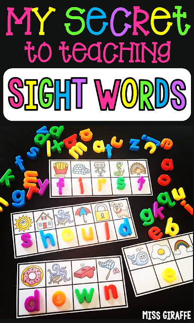 Want to know the secret to teaching sight words? Check out these fun sight word activities to see how you can get mastery of your entire word list in fun ways!