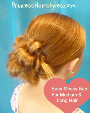 easy messy bun