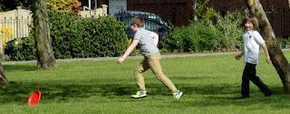 rolling frisbee fail