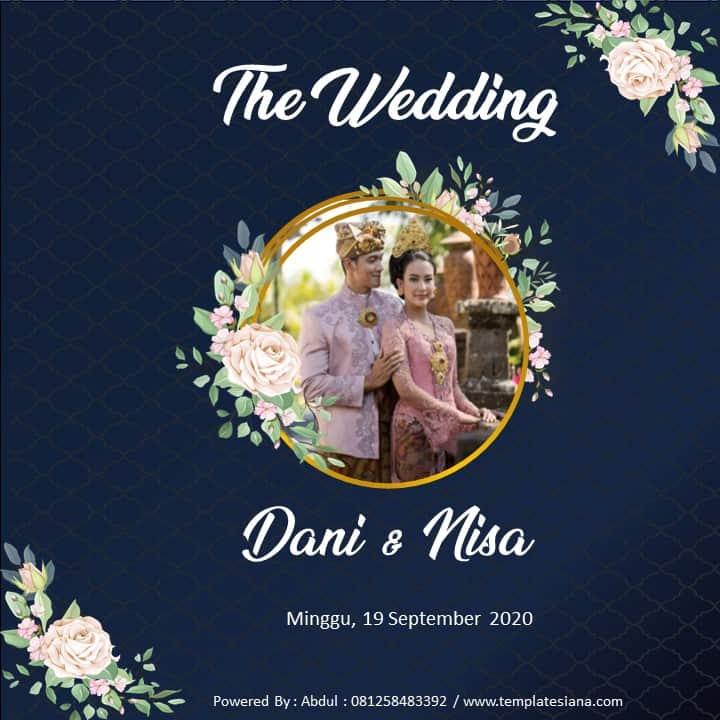 Templates Video Undangan Pernikahan Digital Mediasiana Com Media Pembelajaran Masakini
