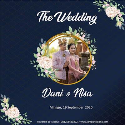 Templates Video Undangan Pernikahan Digital