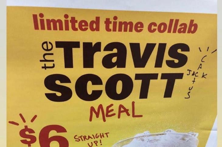McDonalds Reveals The Travis Scott Meal