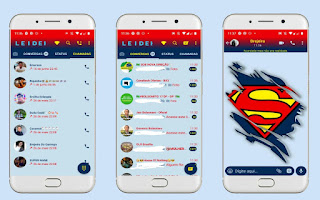 Superman Theme For YOWhatsApp & Fouad WhatsApp By Leidiane